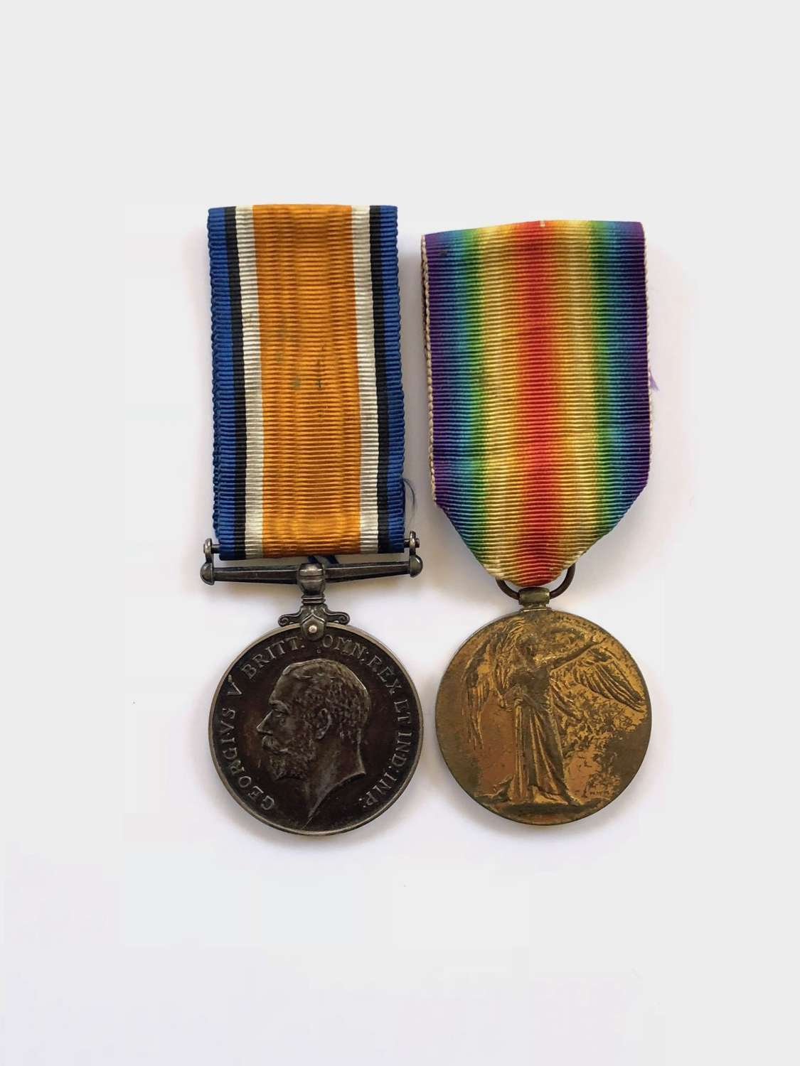 WW1 1st Bn Kings Own Scottish Borderers KOSB 1917 Casualty Medals.
