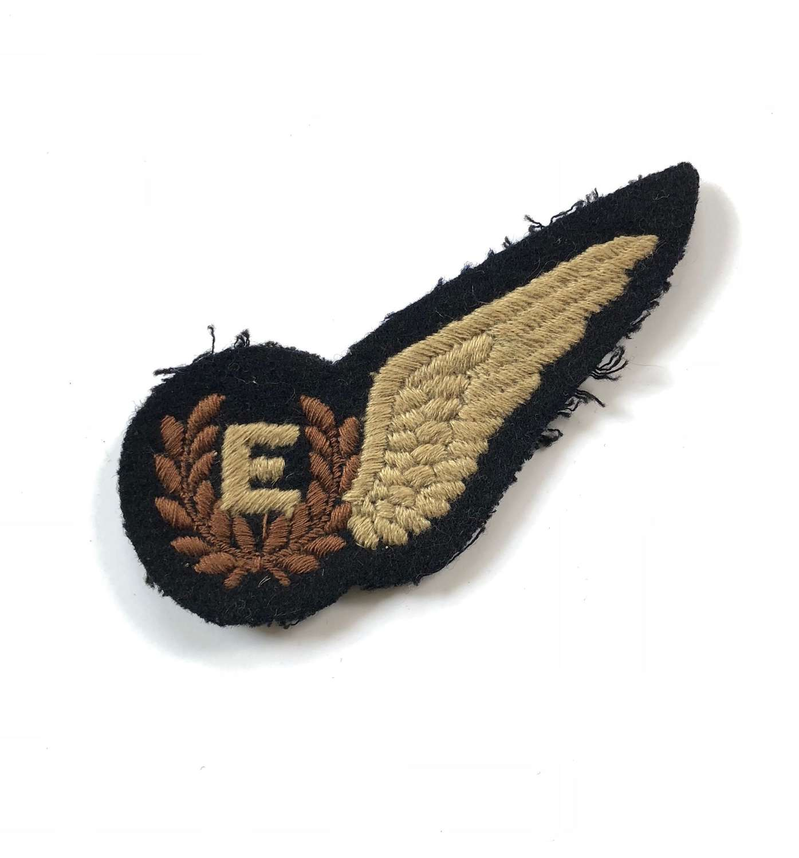 WW2 Period RAF Flight Engineer Brevet Badge 115 Squadron.