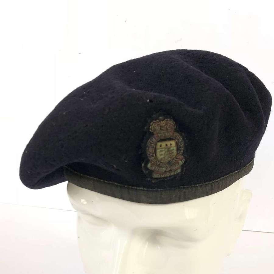 RAOC Royal Army Ordinance Corps Officer's Beret.