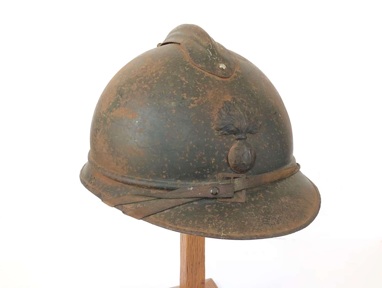 WW1 French Adrian Infantry Helmet.