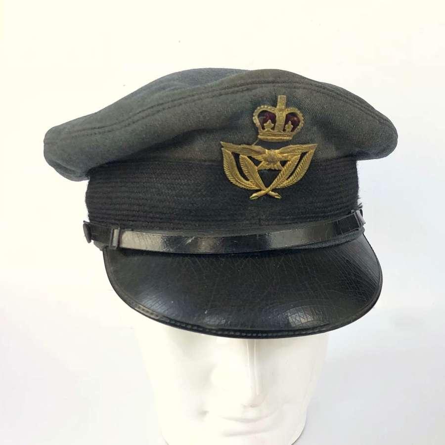 RAF Cold War / WW2 Style Warrant Officer Cap.