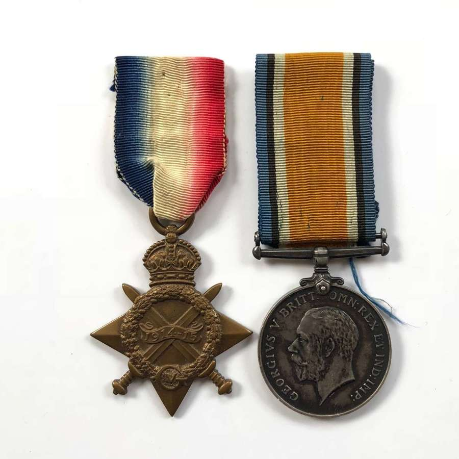 WW1 King's Own Yorkshire Light Infantry Medals.