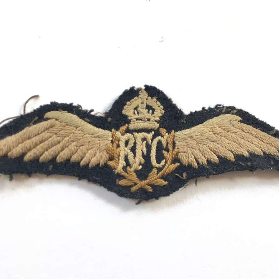 WW1 Royal Flying Corps RFC Pilot Wings