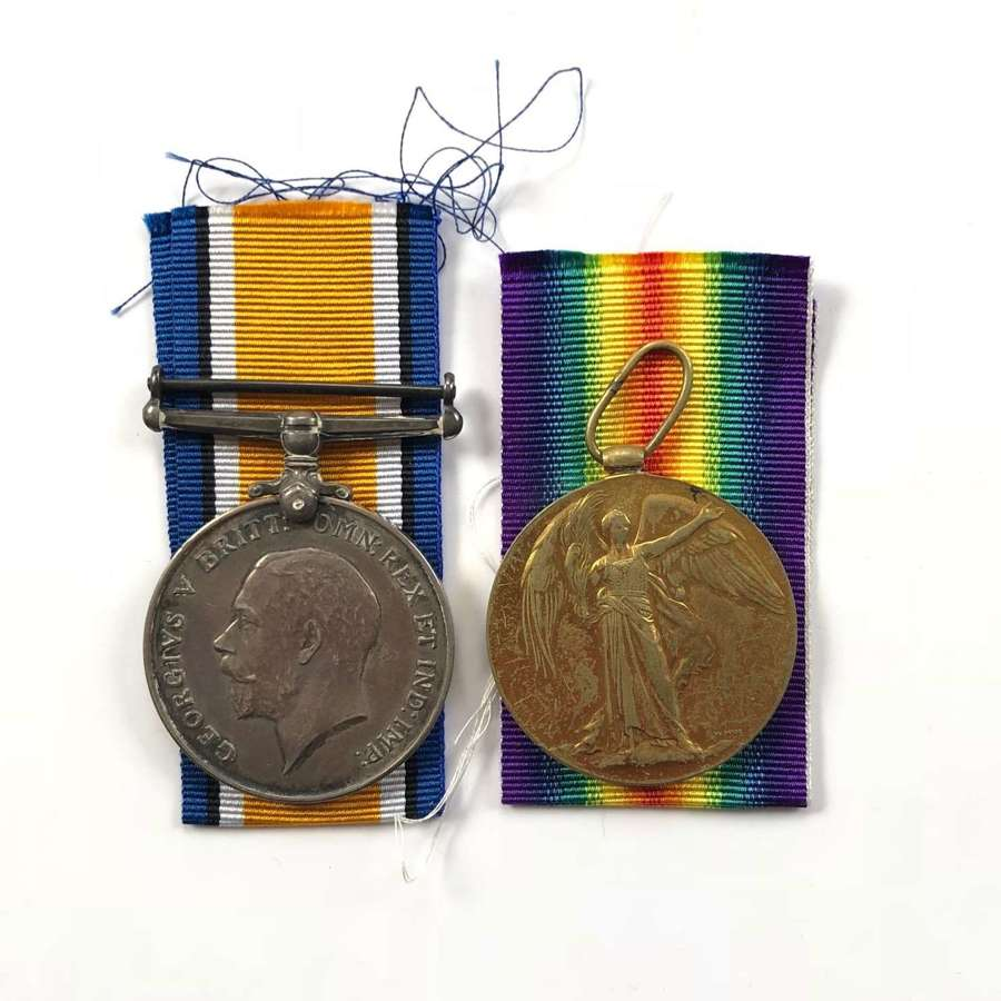 WW1 2nd London Regiment / Grenadier Guards Casualty Pair of Medals.