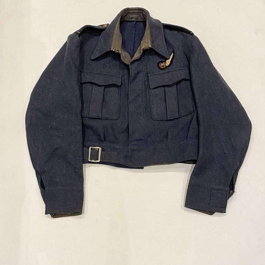 WW2 RAF 1943 Aircrew Air Gunner Battledress Tailored Blouse.