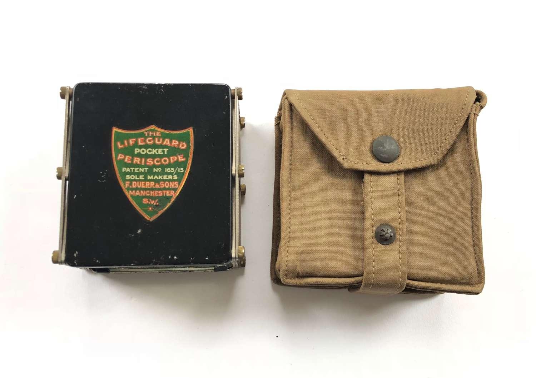 """WW1 British """"Lifeguard"""" Private Purchase Trench Periscope."""