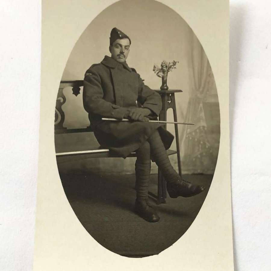 WW1 Royal Flying Corps Original Postcard Photograph.