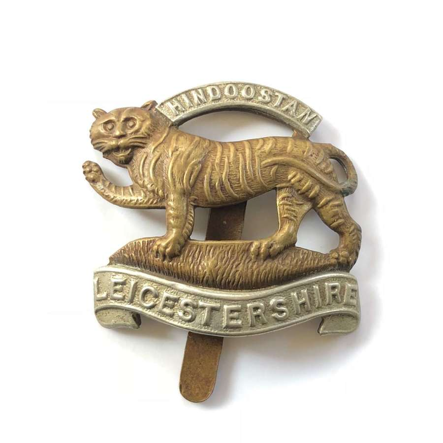 WW1/WW2 Liecestershire Regiment Cap Badge.