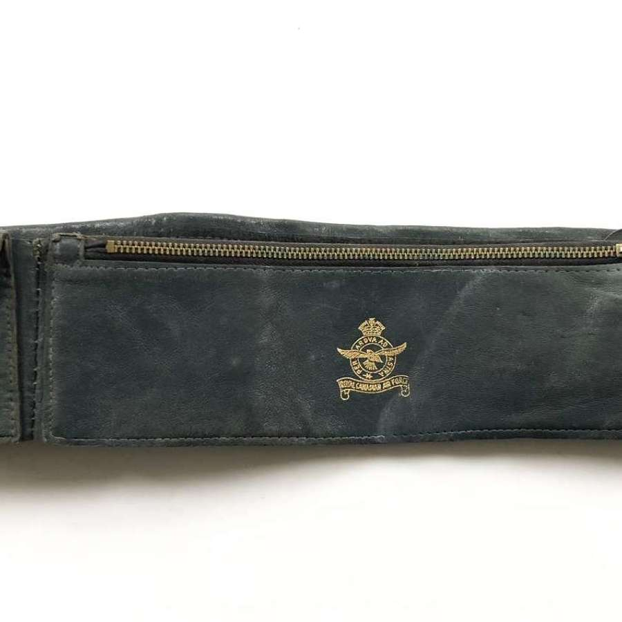 WW2 Royal Canadian Air Force Money Belt.