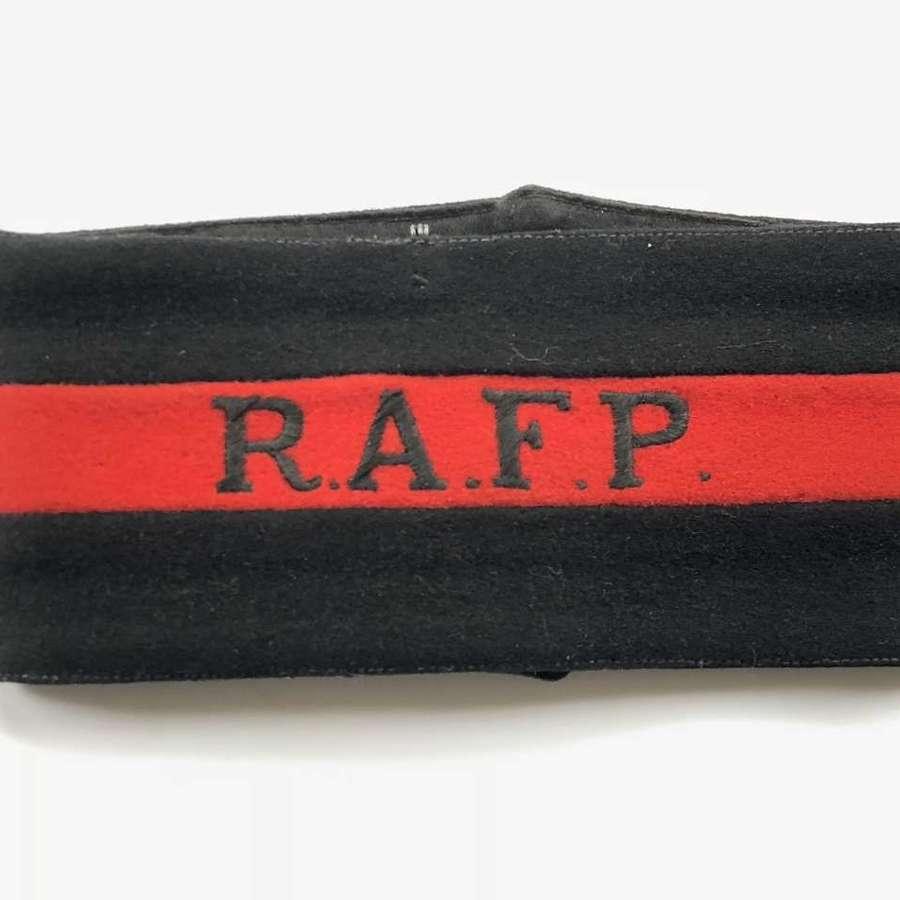 RAF Police Cold War Period Armband.
