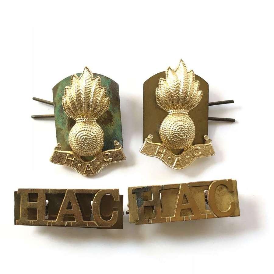 Honourable Artillery Company Badges.