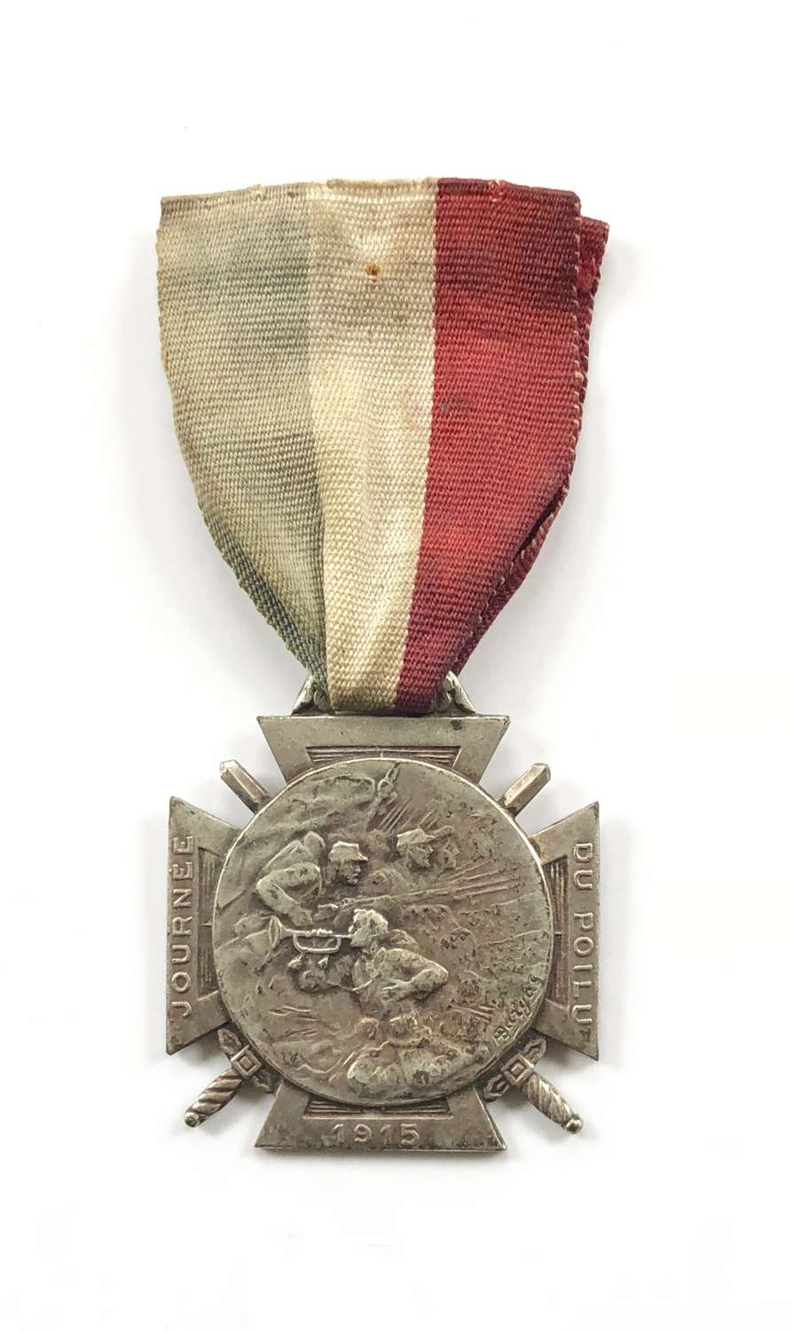 WW1 French 1915 Silver Medal.