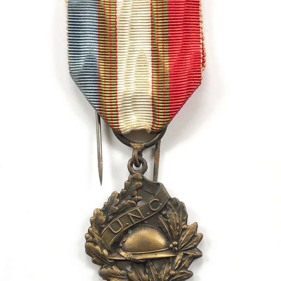WW1 UNC French Veterans Medal.