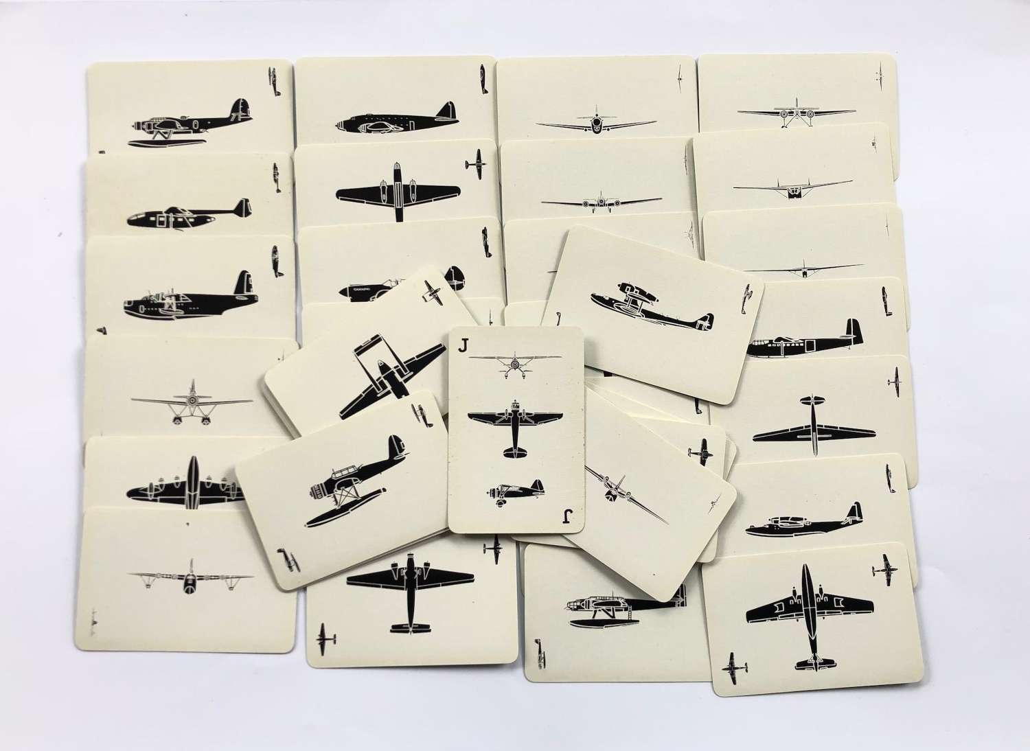 WW2 British Aircraft Recognition Playing Cards.