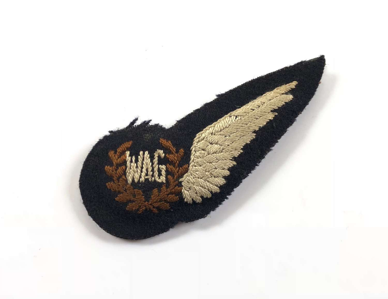 WW2 Period RAF Wireless Operator Air Gunner Brevet Badge.