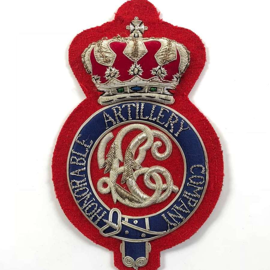 Honourable Artillery Company HAC Light Cavalry Shabraque Badge.