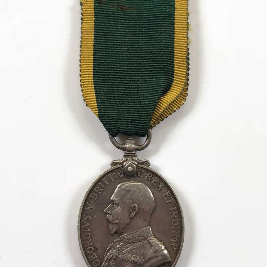 WW1 37th Northumberland Fusiliers Force Territorial Efficiency Medal