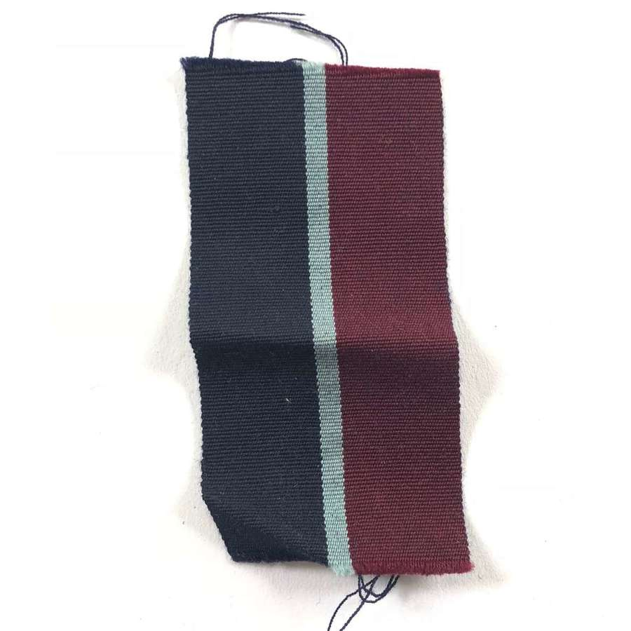 WW2 Period RAF Officer's Middle East Far East Pagri Ribbon Badge.