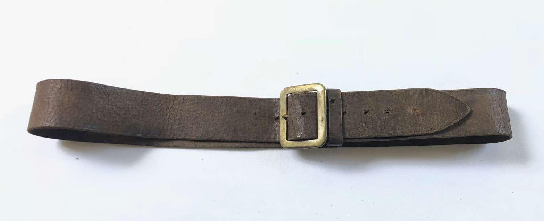 Old Vintage Period Leather Utility Belt.