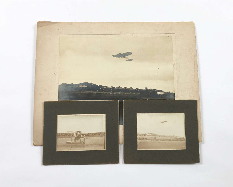 Pioneer Aviation Bleriot Monoplane  Mr Hucks Photographs.