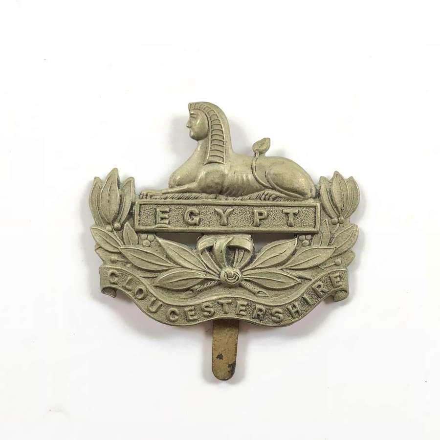 WW1 / WW2 Gloucestershire Regiment Cap Badge.