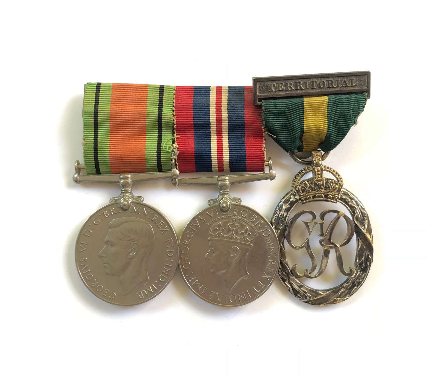 WW2 / Cold War Period Territorial Decoration Group of Three Medals.
