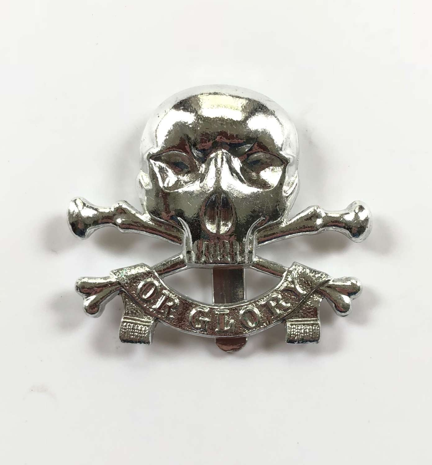 17/21st Lancers Anodised Cap Badge by Gaunt.