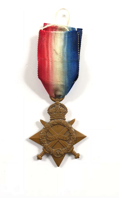 WW1 Lincolnshire Regiment 1914/15 Star.