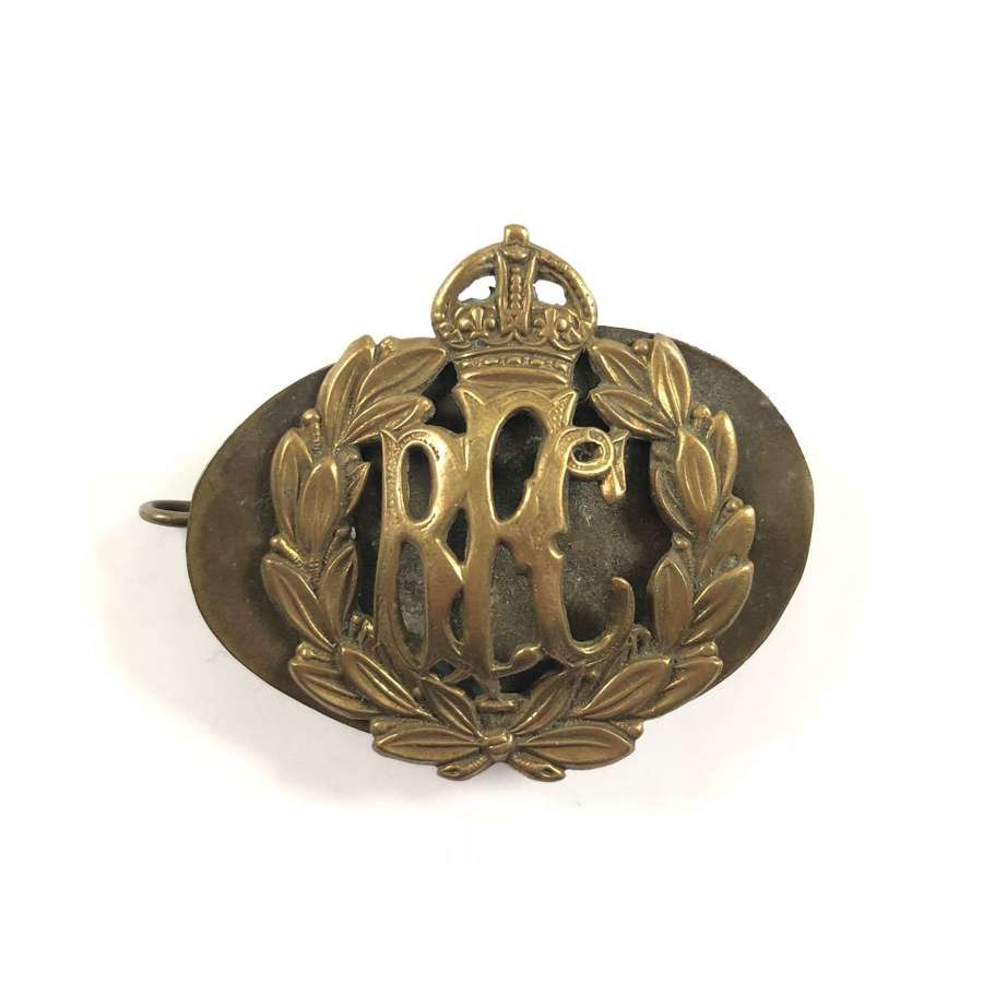 WW1 RFC Royal Flying Corps Other Ranks Cap Badge.