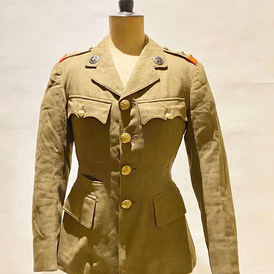 WW2 Auxiliary Territorial Service ATS Channel Islands Officer's Tunic