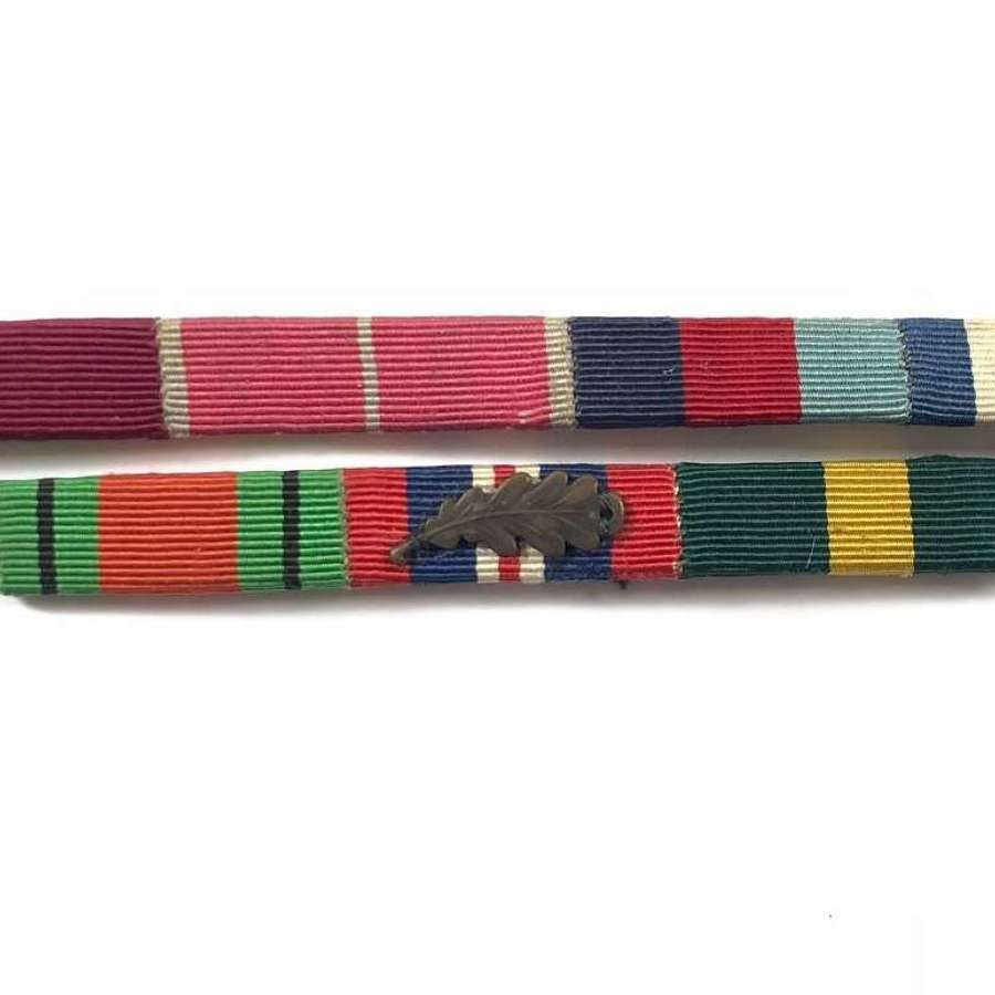 WW2 Territorial Army Officer's MID Medal ribbons.