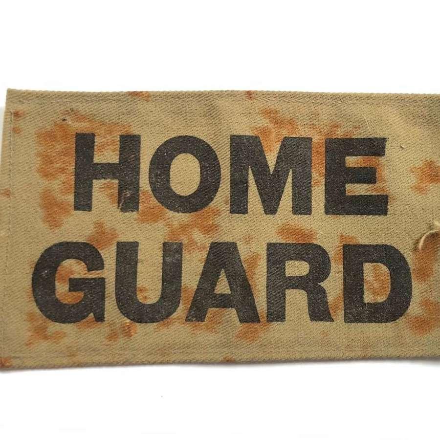 WW2 Home Guard Armband Overlay.