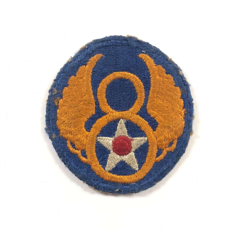 WW2 8th United States Air Force Cloth Badge.