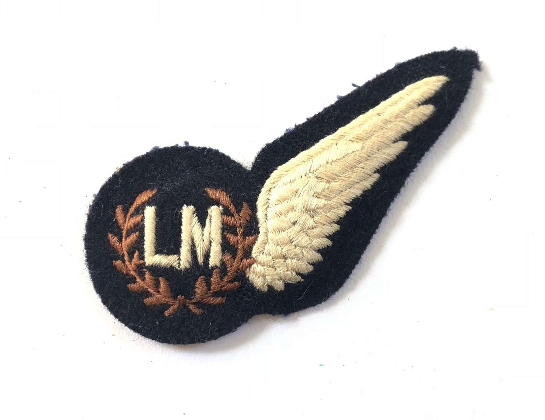 RAF Cold War Period Load Master Aircrew Brevet Badge.
