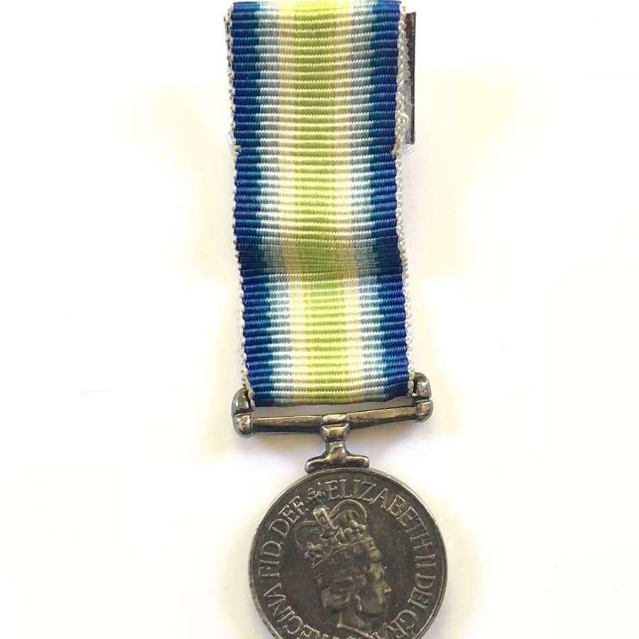 South Atlantic Falklands War Original Miniature Medal.