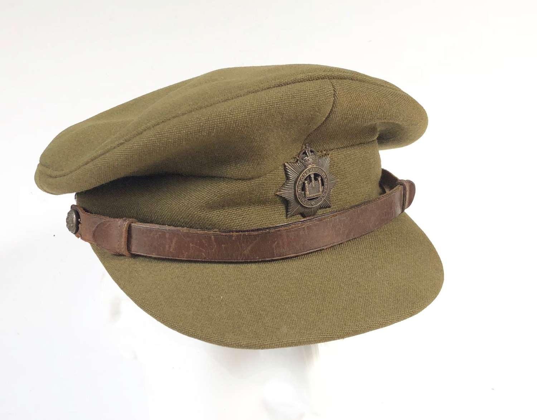 WW2 Pattern Devonshire Regiment Officer's Cap.