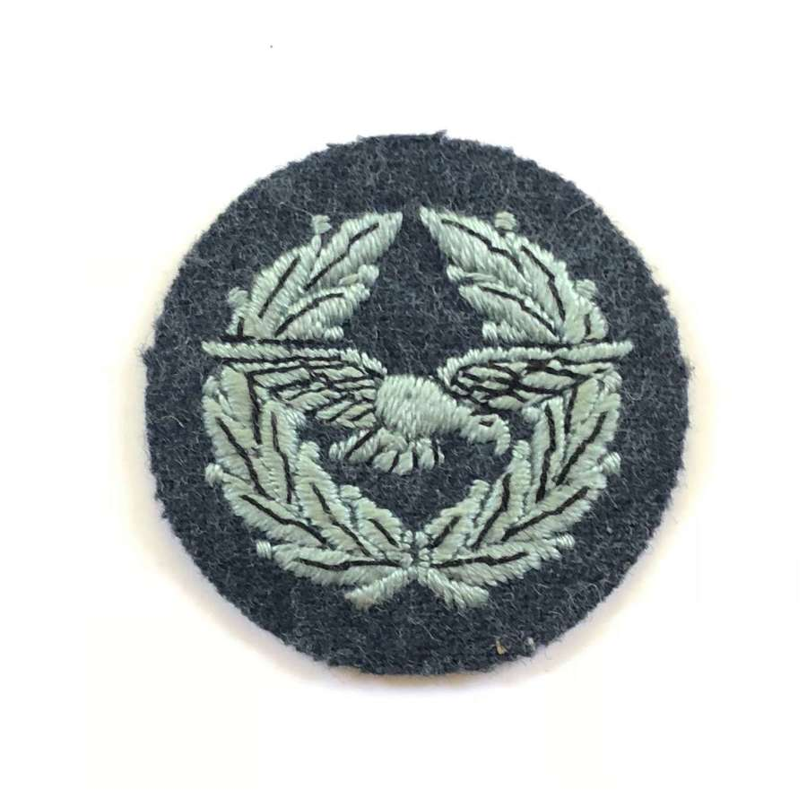 RAF Air Training Corps Early Pattern Warrant Officer Rank Badge.