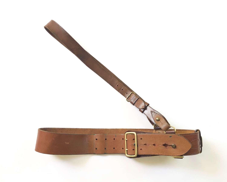 WW1 / WW2 British Officer Sam Brown Belt