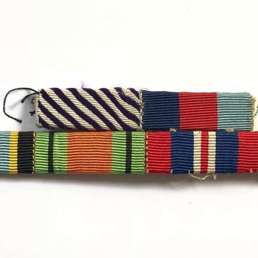 WW2 RAF Distinguished Flying Medal Uniform Medal Ribbons.
