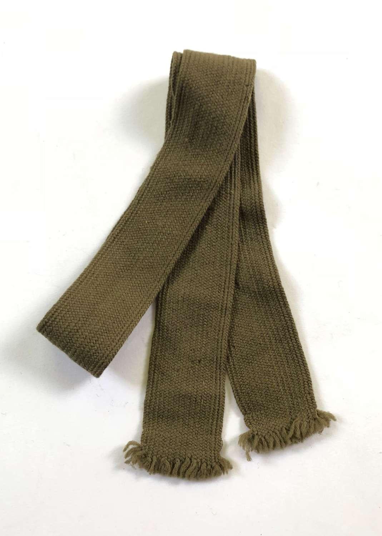 WW1 / WW2 Pattern British Army Wool Tie.