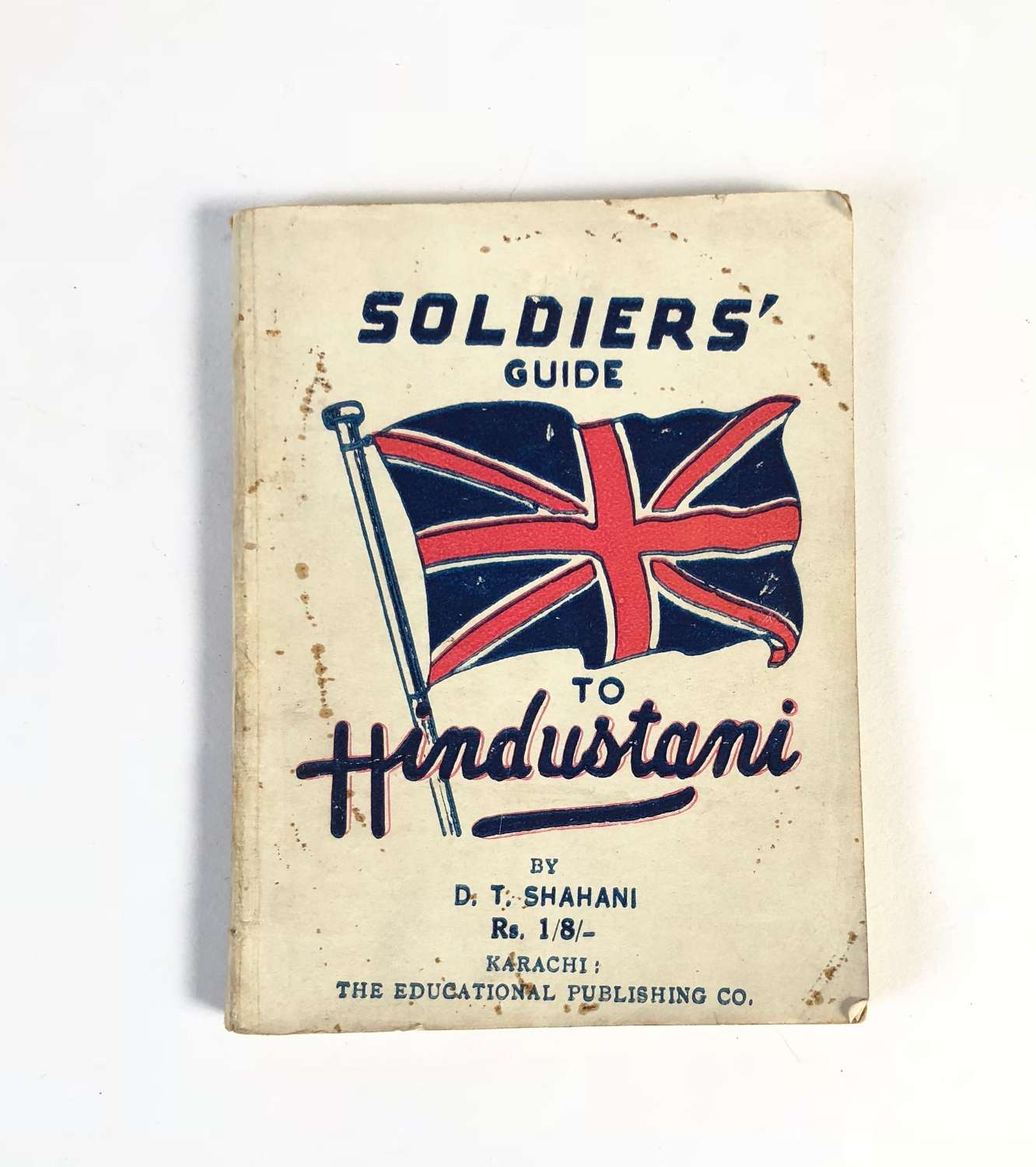 WW2 Soldiers Guide to Hindustani.