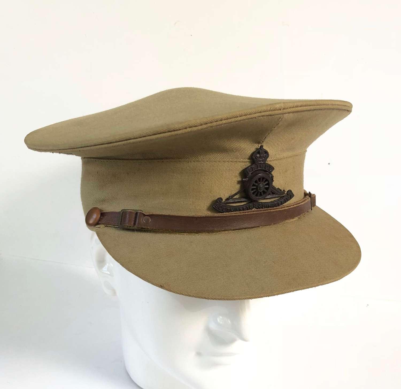 WW2 South African Artillery Officer's Cap.