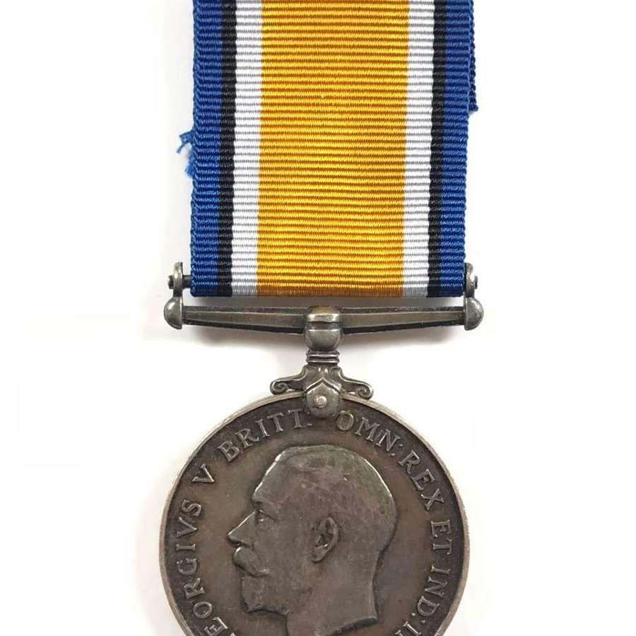 WW1 15th Hussars British War Medal.