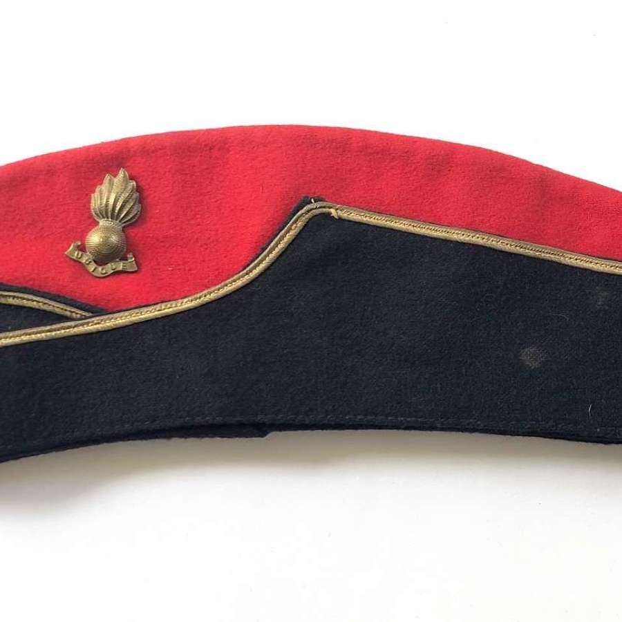 WW2 Royal Artillery Coloured Side Cap.