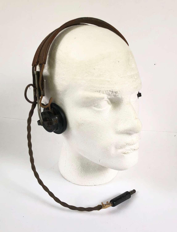 WW2 US Army Air Force USAAF Headset.