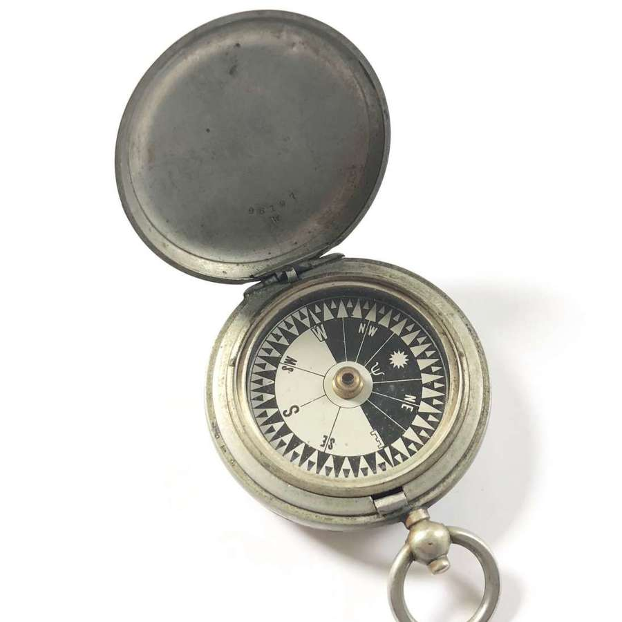 WW1 Battle of the Somme Period 1916 Issue Pocket Compass.