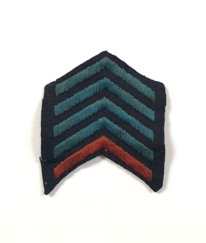 WW1 Royal Navy / RAF Pattern Overseas Chevron Badge.