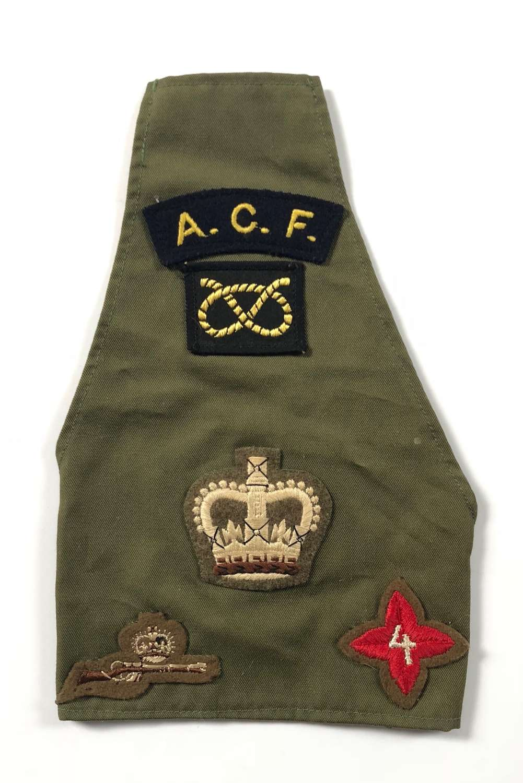 Staffordshire Army Cadet Force Brassard.