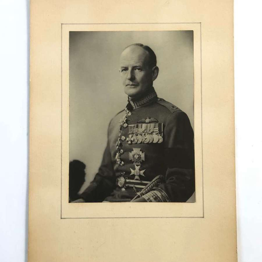 Original Photograph of Air Chief Marshal Sir Charles Stuart Burnett