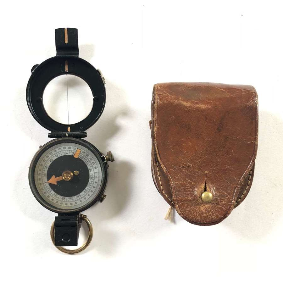 WW1 British Officer's Field Marching Compass.